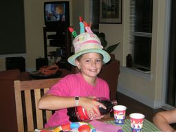 Brooke, 10th Birthday, 2009 - Daddy Direction