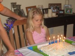 Brooke, 7th Birthday, 2006 - Melissa, bonus mom