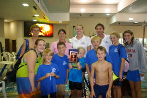 2011, District Champions! - Elizabeth, swim team mom