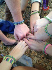 Matching bracelets - Lauren, sister