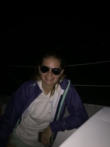 Brooke w/her shades - Daddy Direction