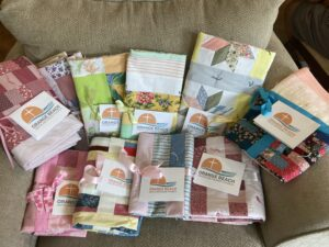 Wow! These are so lovely. These blankets were a part of the 10 Brooke's Kindness Bags for infants.