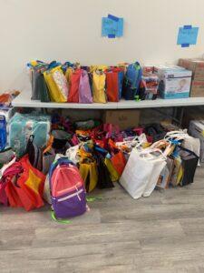 75 Brooke's Kindness Bags delivered.